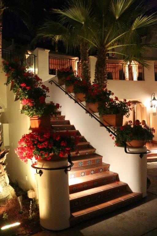 Bacara-Resort-Stairway-Elegant-Dinner-Event