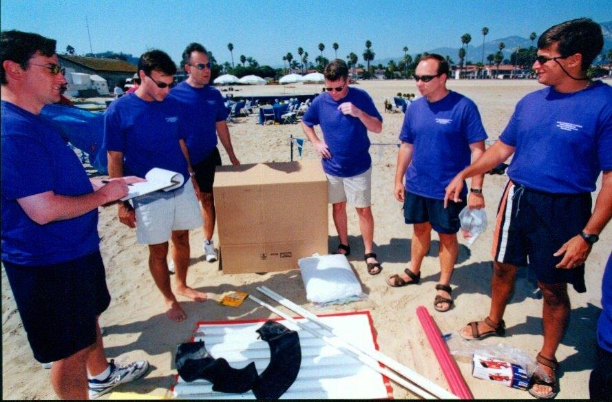 Beach Olympics - Purple Planning