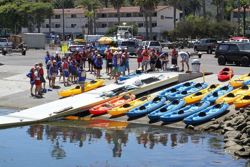 Group-Kayak-Launch-Southern-California