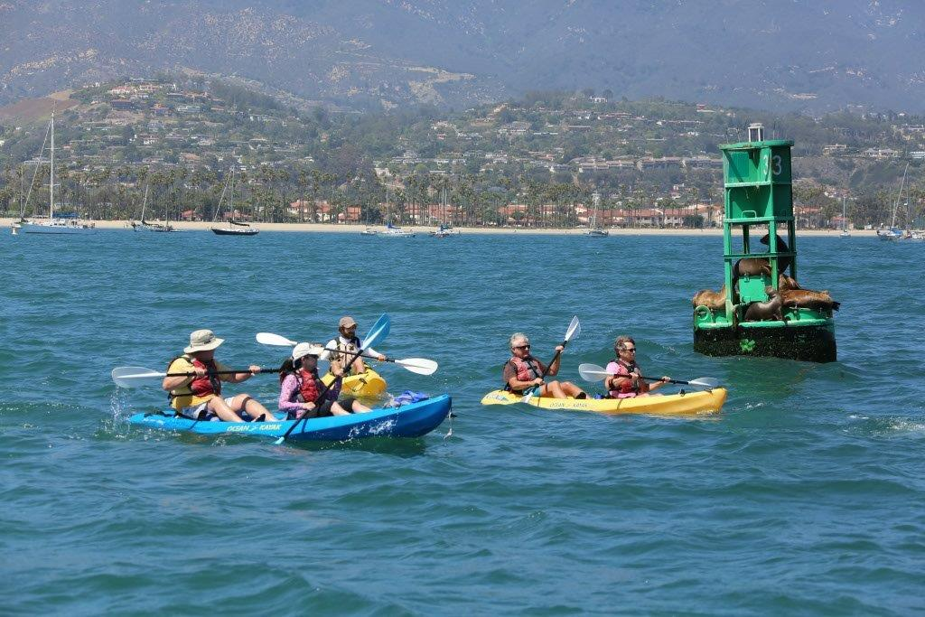 Group-Kayaking-Santa-Barbara