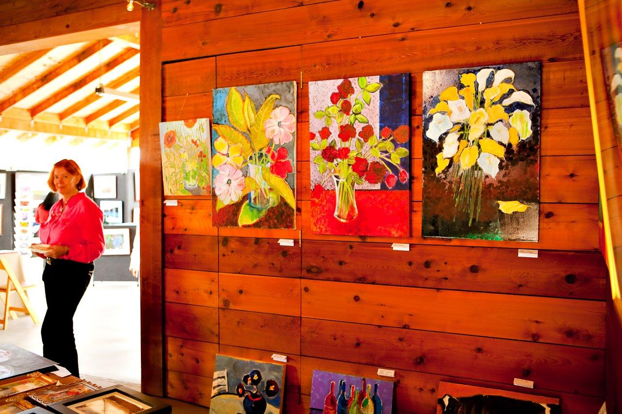 Napa Food and Wine Festival - Art Vendor