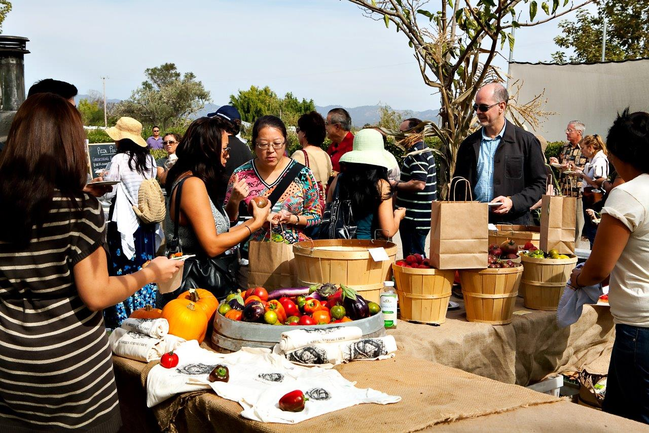 Napa Food and Wine Festival - Greenstring Farm