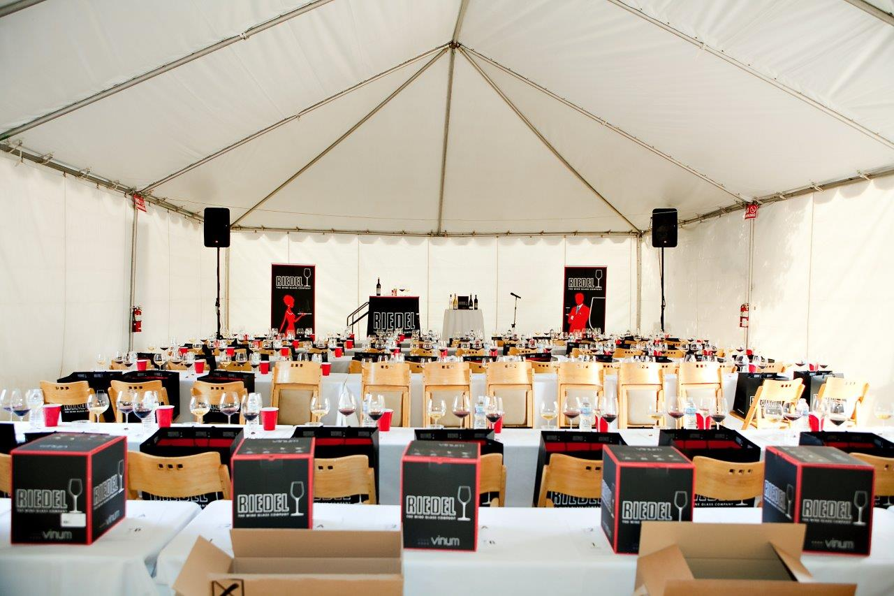 Napa Food and Wine Festival - Riedel Seminar