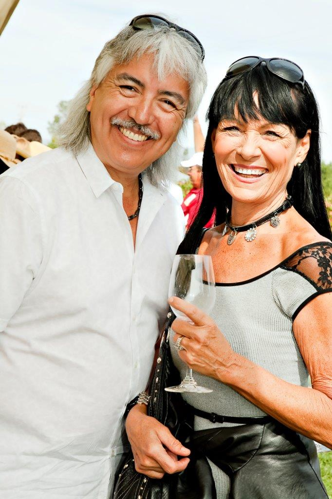 Napa Food and Wine Festival - Smiling Couple