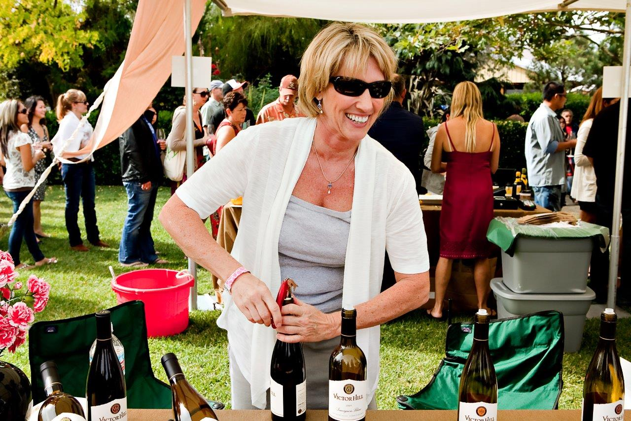 Napa Food and Wine Festival - Victor Hill Winery