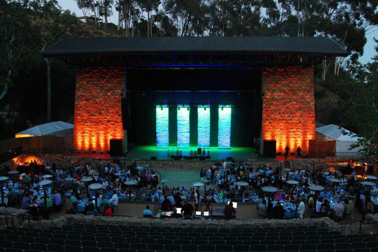 Santa Barbara Bowl Private Dinner Concert