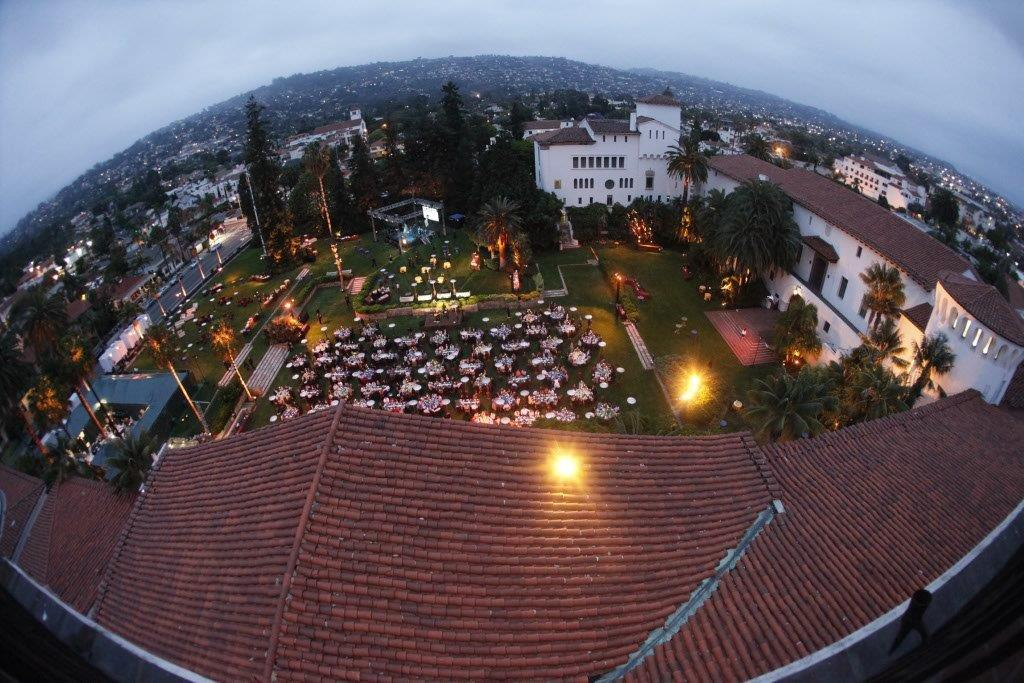 Santa-Barbara-Courthouse-Special-Event-Fisheye-View