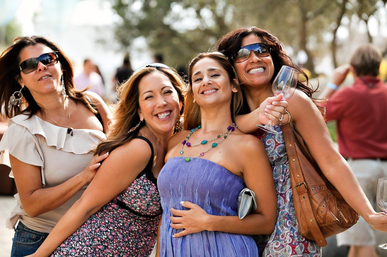 Napa Food and Wine Girlfriends...