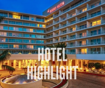 The Beverly Hilton: HOTEL HIGHLIGHT