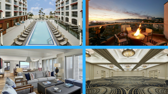 With Nearly 350 Sleeping Rooms 150 Kings 21 Suites 169 Doubles And Over 17 000 Square Feet Of Indoor Function E Loews Santa Monica Provides