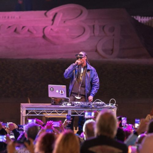 Snoop Dogg Performing at CA Beach Festival