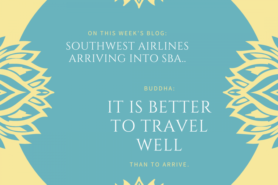 Southwest Airlines Makes its Debut in Santa Barbara