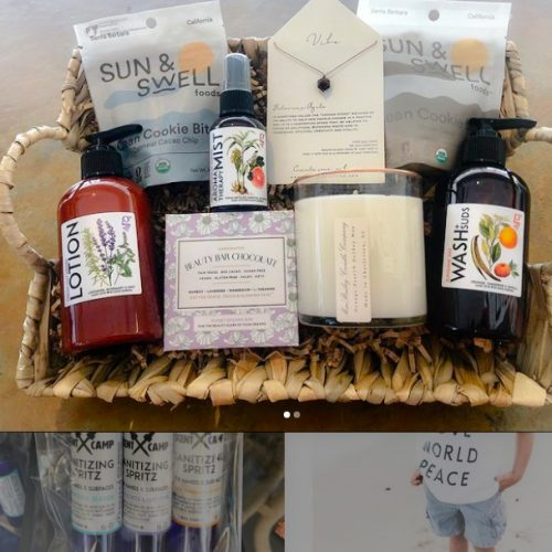 grapeseed products gift basket